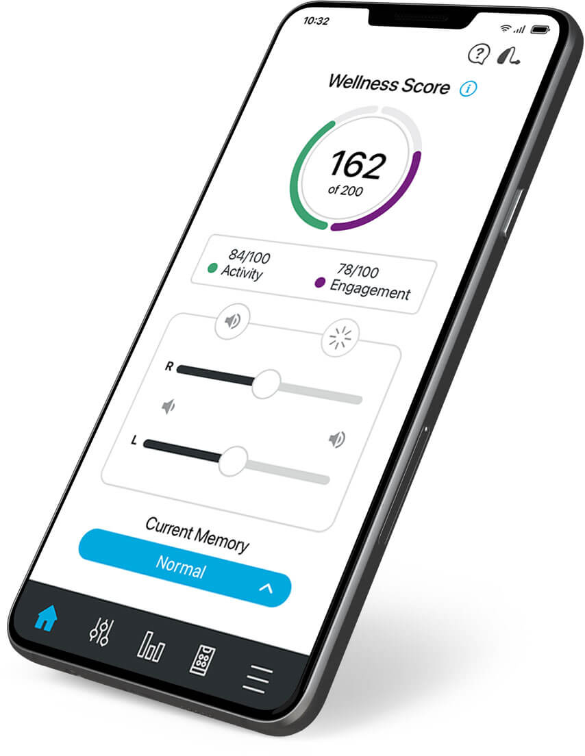 Thrive Hearing Control smartphone app