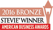 2016 Bronze Stevie Award Winner