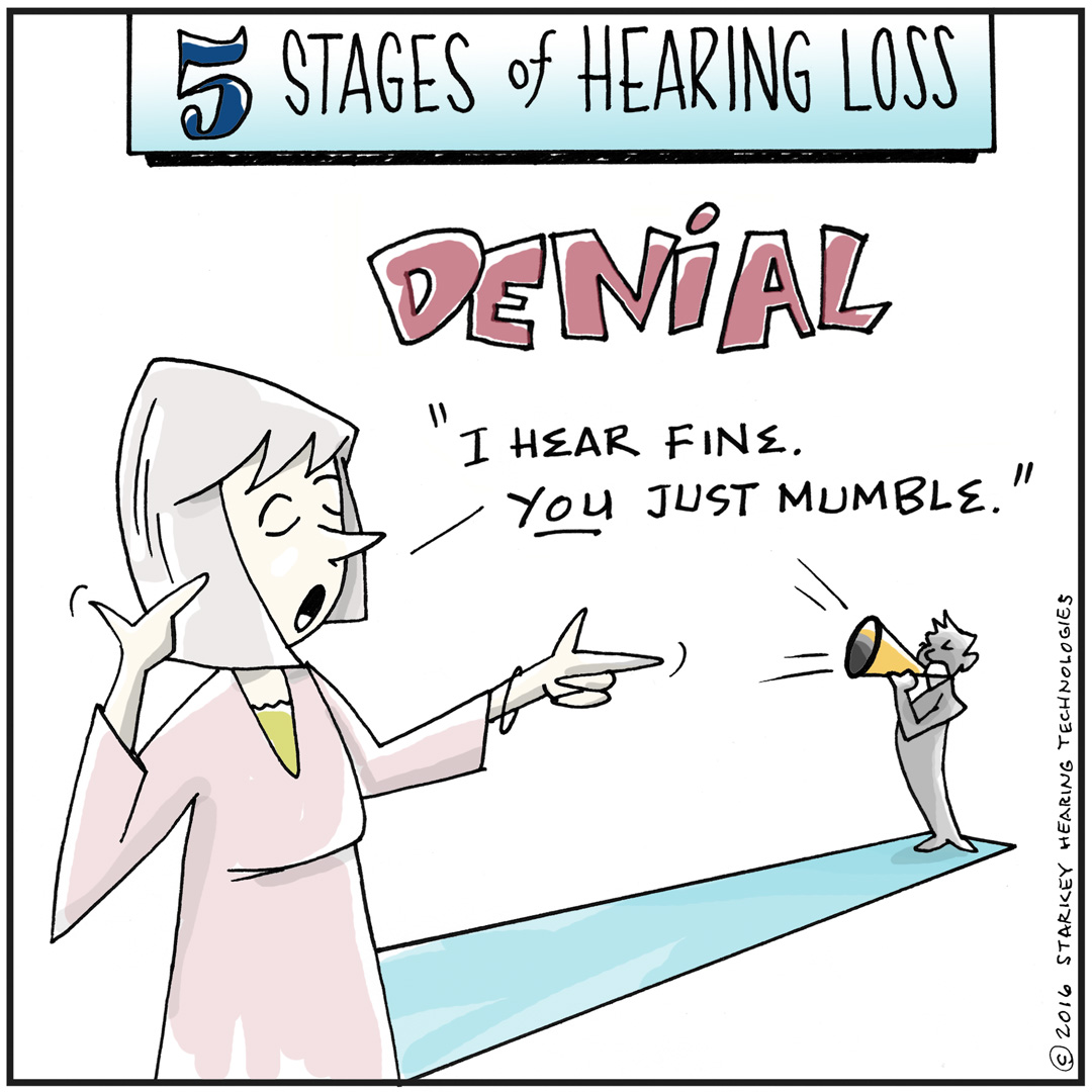 In denial about hearing loss