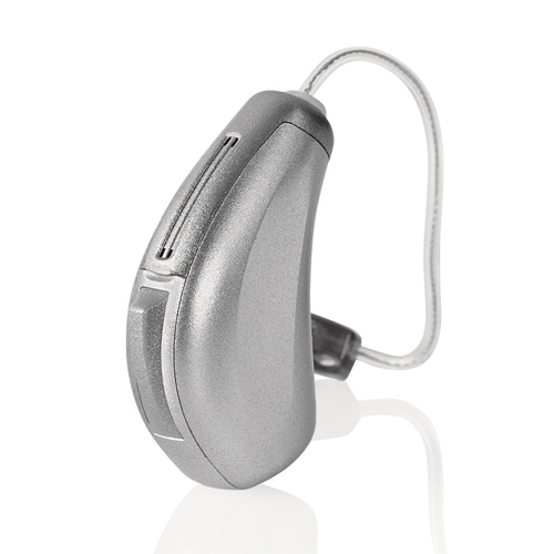 Micro Receiver-In-The-Canal (RIC) hearing aid