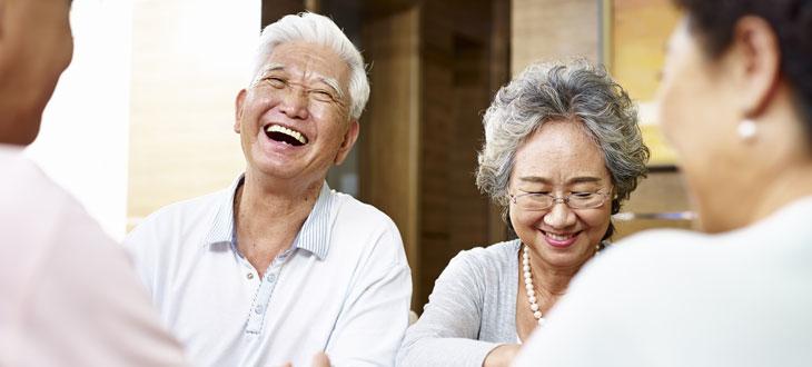 Laughing at the wrong moment because of hearing loss?