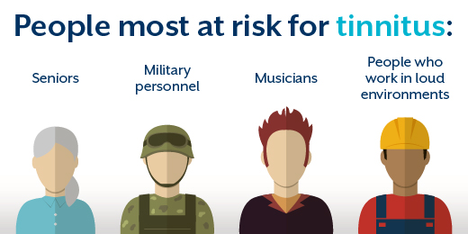 These are the people most at risk for tinnitus