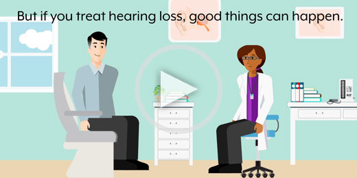 There are two options when it comes to dealing with hearing loss.