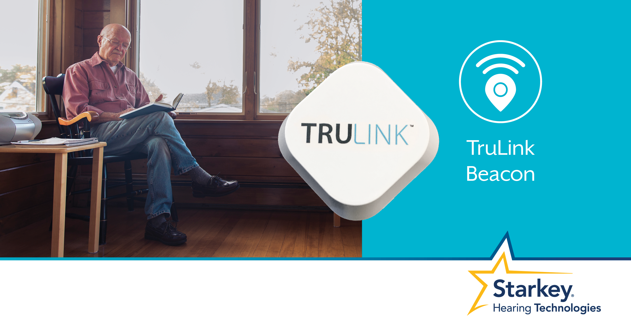 Introducing TruLink beacons for use with Halo or Halo 2 hearing aids.
