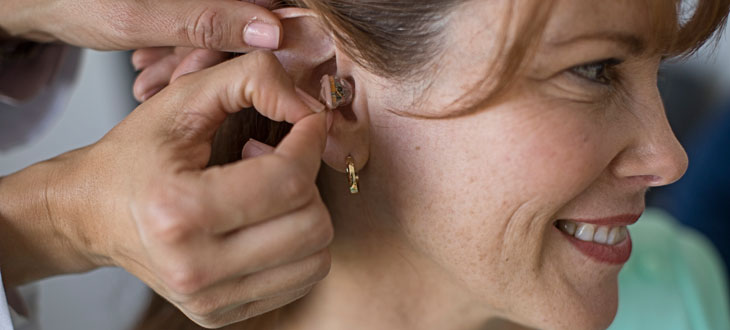 Wearing someone else's hearing aids