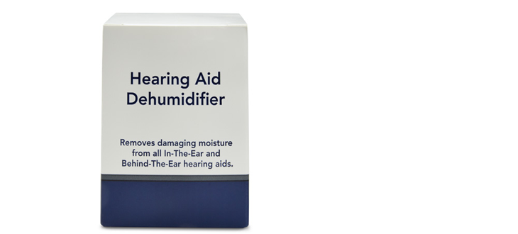 Hearing aid dehumidifier