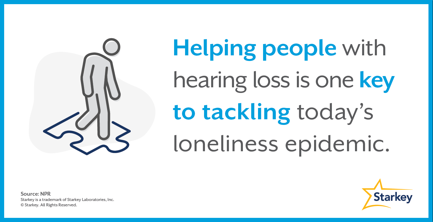 Can treating hearing loss help with loneliness?
