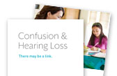 Confusion and Hearing Loss Brochure